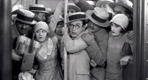 Harold Lloyd in SPEEDY (1928). Courtesy Harold Lloyd Entertainme
