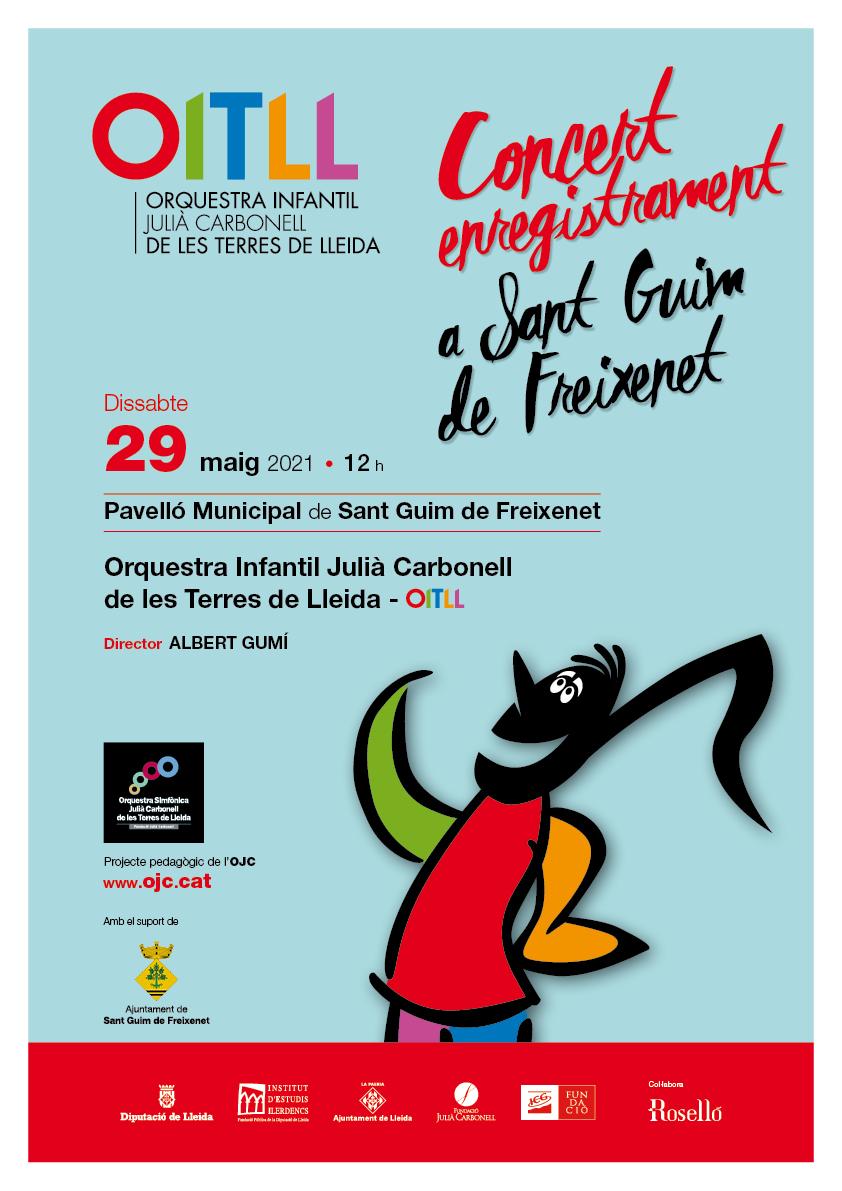 Cartell Concert OITLL 2021